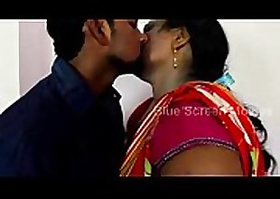 Mallu Aunty  With Husband Friend Romance..